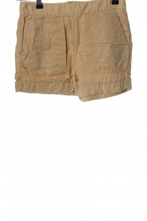 Zara Basic Hot Pants braun Casual-Look