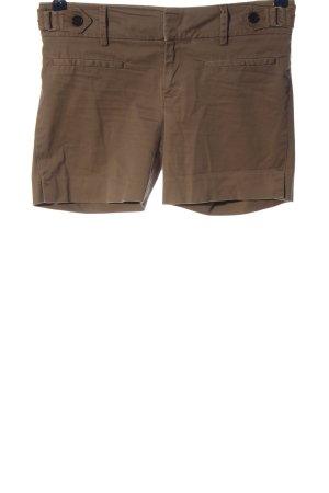 Zara Basic Pantalón corto marrón look casual