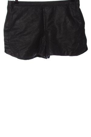 Zara Basic Hot Pants schwarz Casual-Look