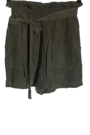 Zara Basic Hot Pants khaki Casual-Look