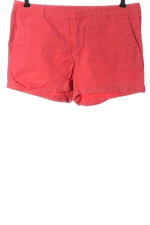 Zara Basic Hot Pants rot Casual-Look