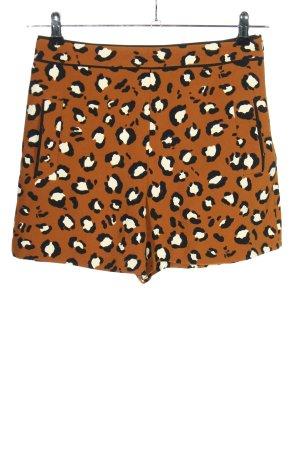 Zara Basic Hot pants abstract patroon casual uitstraling