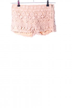Zara Basic Hot Pants nude Mustermix Casual-Look
