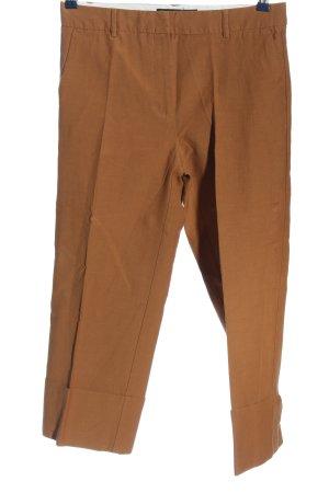 Zara Basic Pantalon taille basse orange clair moucheté style décontracté