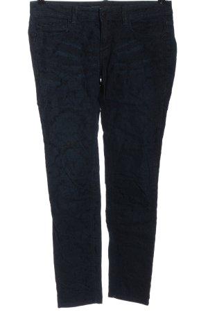 Zara Basic Hüftjeans blau Casual-Look