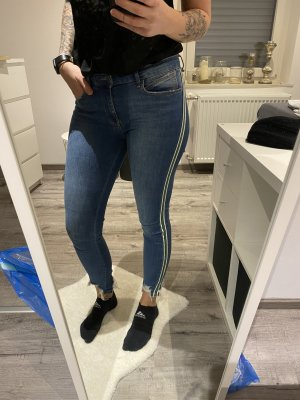 Zara Basic Jeans streifen