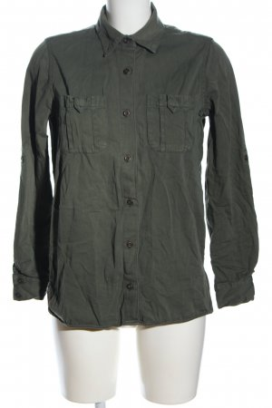 Zara Basic Camicia denim cachi stile casual