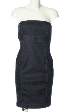 Zara Basic Robe en jean bleu élégant