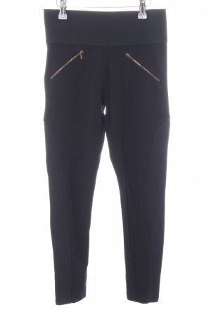 Zara Basic Jeggings schwarz Street-Fashion-Look