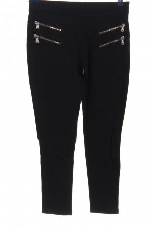 Zara Basic Jeggings schwarz Casual-Look