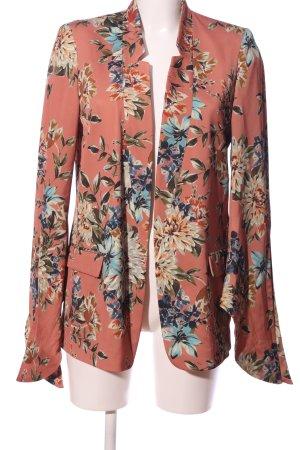 Zara Basic Jerseyblazer Allover-Druck Casual-Look