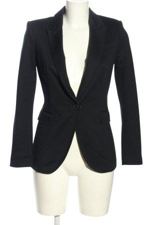 Zara Basic Jersey Blazer negro estilo «business»