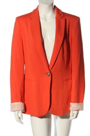 Zara Basic Jerseyblazer hellorange Business-Look