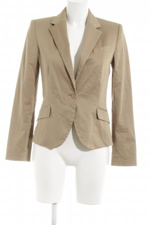 Zara Basic Jerseyblazer beige Business-Look
