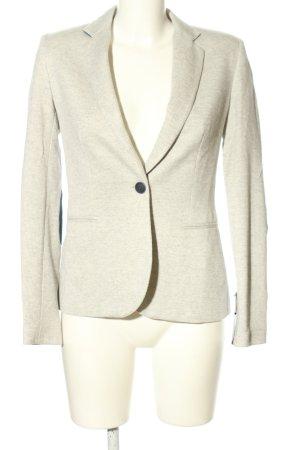 Zara Basic Blazer in jersey grigio chiaro-nero puntinato stile casual