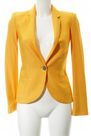 Zara Basic Jerseyblazer goldorange Business-Look