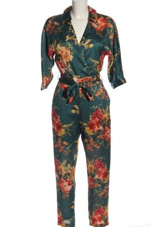 Zara Basic Jumpsuit Allover-Druck Casual-Look