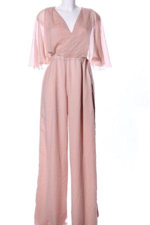 Zara Basic Jumpsuit pink Elegant