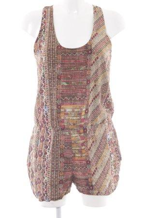 Zara Basic Jumpsuit Aztekenmuster Casual-Look