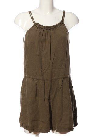 Zara Basic Jumpsuit braun Casual-Look