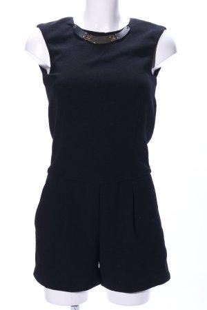 Zara Basic Jumpsuit schwarz Elegant