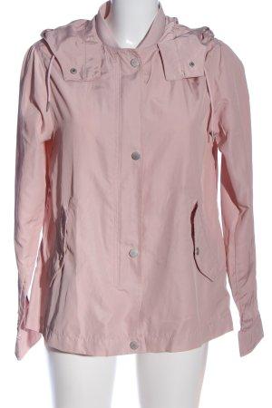 Zara Basic Kapuzenjacke pink Casual-Look