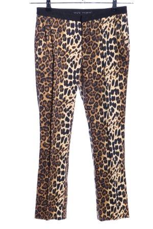 Zara Basic Pantalon fuselé motif animal style décontracté