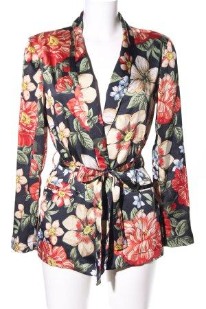 Zara Basic Kimono allover print business style