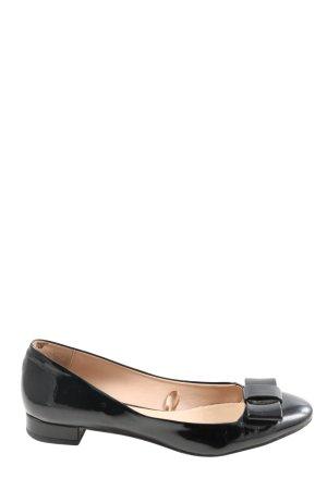 Zara Basic Classic Ballet Flats black casual look