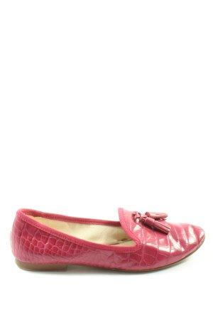 Zara Basic Klassische Ballerinas pink Elegant