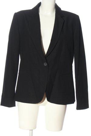 Zara Basic Klassischer Blazer schwarz Business-Look