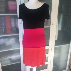 Zara Basic Kleid Colour Blocking Gr. XS