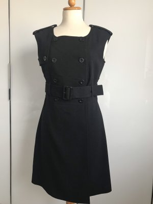 Zara Basic Coat Dress black