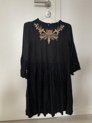Zara Basic Tunic Dress black