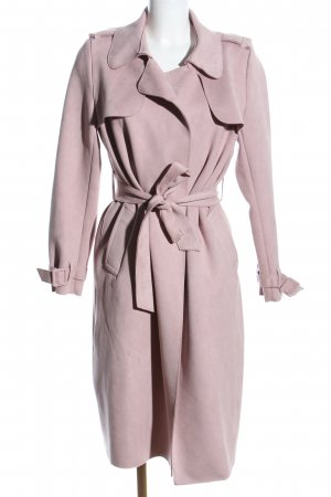 Zara Basic mantel pink Casual-Look