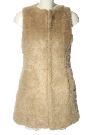 Zara Basic Kunstfellweste wollweiß Elegant