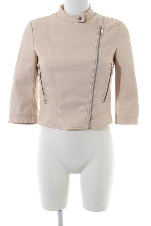 Zara Basic jacke nude Business-Look