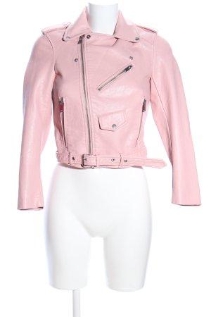 Zara Basic jacke pink Casual-Look