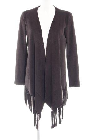 Zara Basic jacke braun Casual-Look