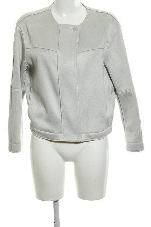 Zara Basic jacke graugrün Casual-Look