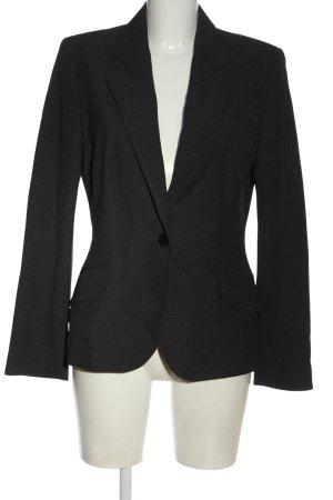 Zara Basic Kurz-Blazer hellgrau Business-Look