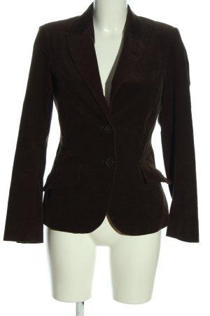 Zara Basic Kurz-Blazer braun Casual-Look