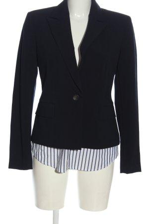 Zara Basic Kurz-Blazer schwarz Casual-Look