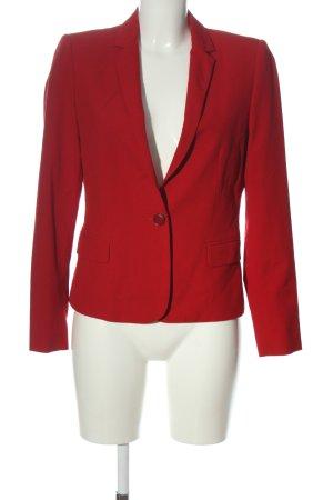 Zara Basic Kurz-Blazer rot Business-Look
