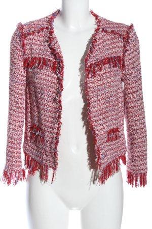 Zara Basic Kurz-Blazer meliert Casual-Look