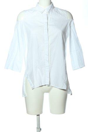 Zara Basic Chemise à manches courtes blanc style décontracté
