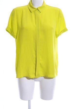 Zara Basic Short Sleeve Shirt primrose casual look
