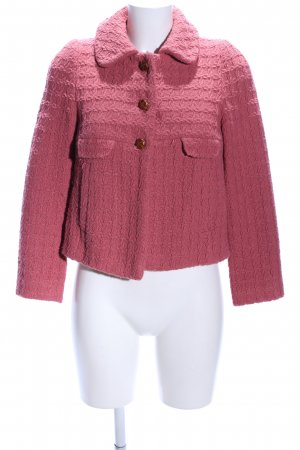 Zara Basic Kurzjacke pink Business-Look
