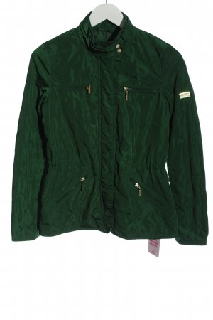 Zara Basic Kurzjacke grün Casual-Look
