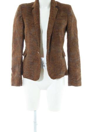 Zara Basic Kurzjacke bronzefarben Animalmuster Casual-Look
